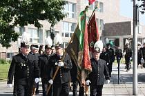 Zástupci OKD, města a hornických spolků dolů na Karvinsku položili při pietním aktu věnce, jako vzpomínku na kolegy a kamarády, kteří zemřeli při důlních neštěstích.