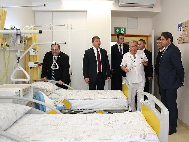 Rekonstruované oddělení geriatrie havířovské nemocnice.