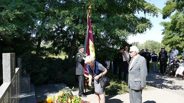 Pietní akt u památníku 108 horníků Dolu Dukla v Havířově