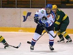 Orlovští hokejisté si na druhou ligu musí ještě počkat.