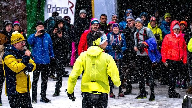 Zimní extrémní závod LH24 (Lysá Hora 24 hodin).