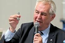 Prezident ČR Miloš Zeman.