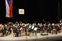 Karvinský Dechový orchestr Májovák odehrál 1. ledna svůj tradiční Novoroční koncert.