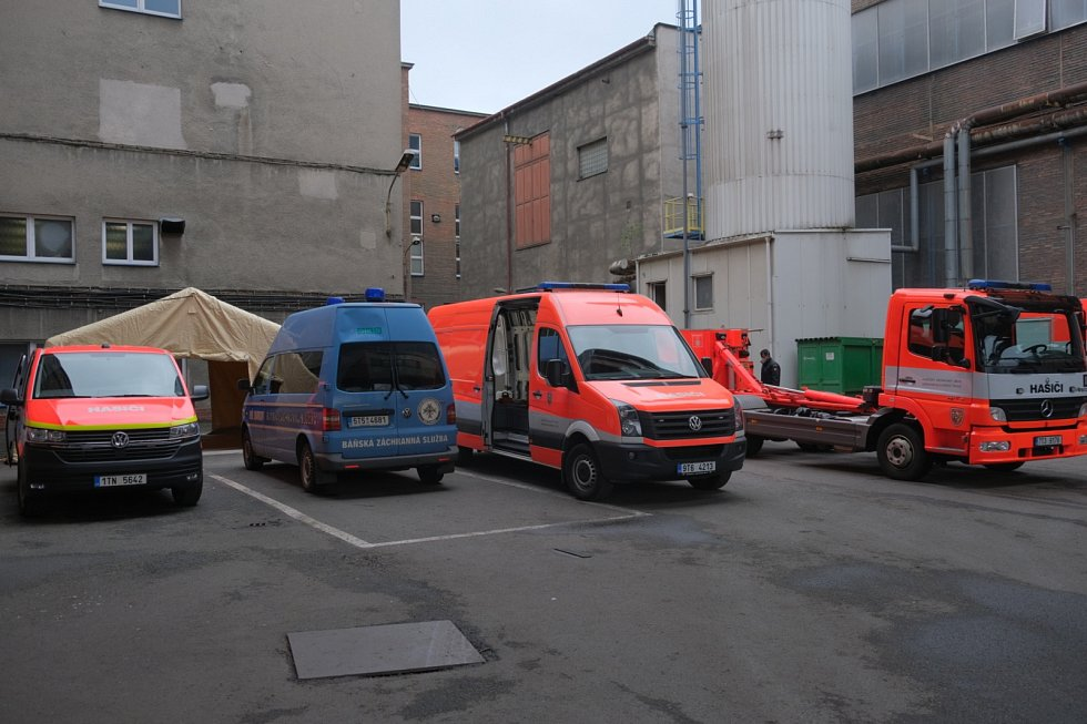 Dekontaminace Dolu ČSA.