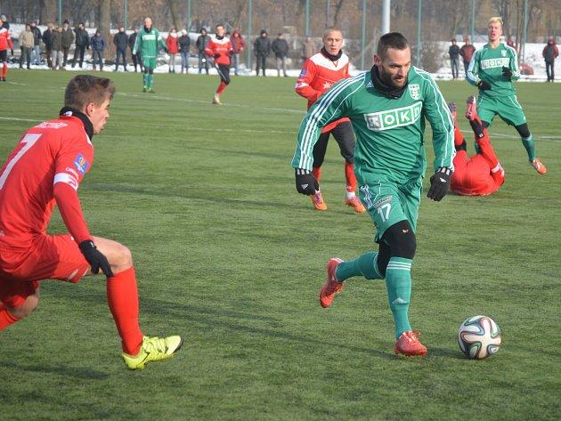 Karvinští fotbalisté remizovali v Sosnowci 2:2.