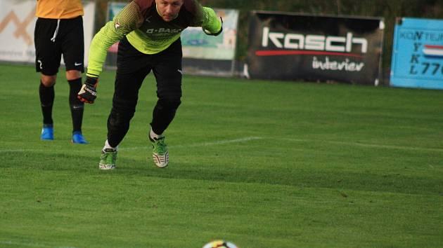 Břetislav Gradek podržel spoluhráče a Těšín bral tři body.
