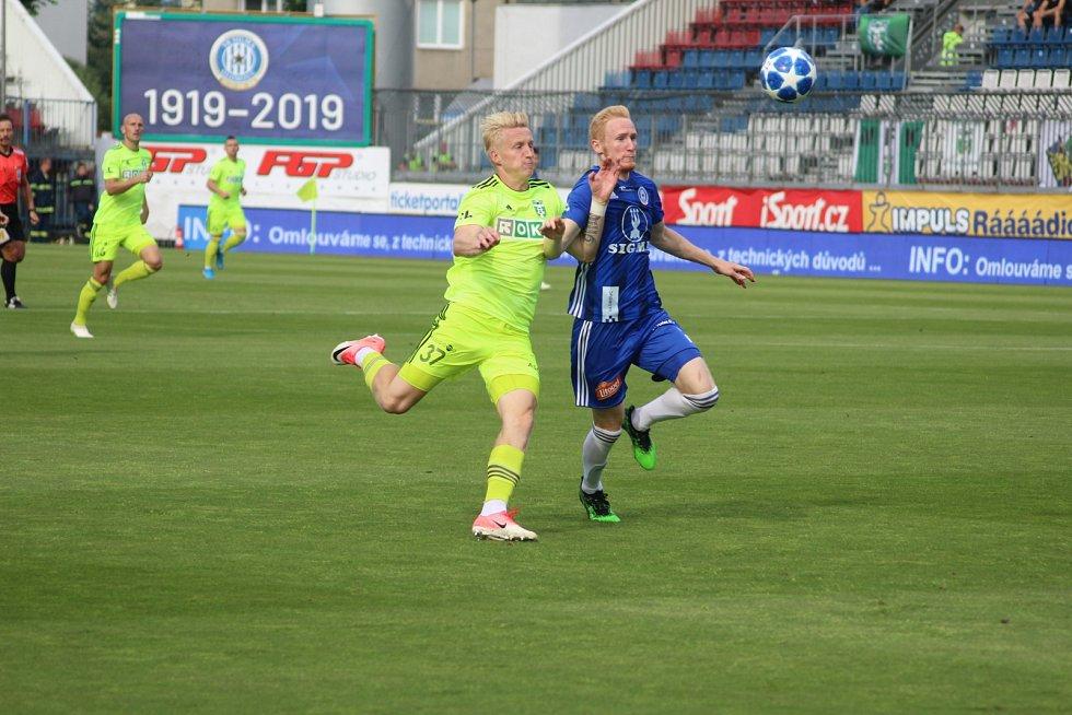 Na 1:1 srovnal Michal Petráň (vlevo).
