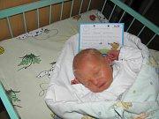 Paní Pavle Ochodkové z Orlové se 2. února narodil syn Tobiášek. Po porodu chlapeček vážil 3400 g a měřil 51 cm.