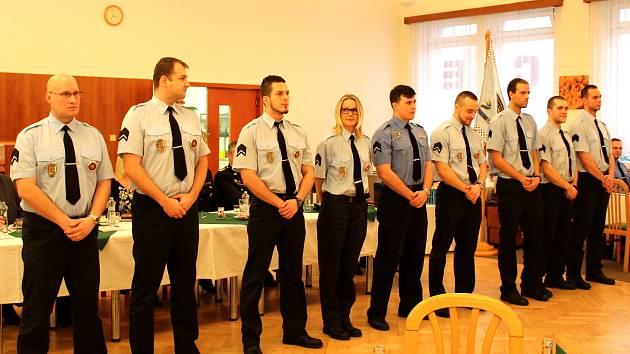 Noví strážníci Městské policie Havířov.