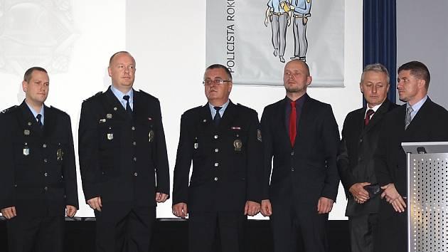 Slavnostní ocenění policistů Karvinska.