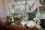 Pavla Recmanová ráda peče perníčky a na Velikonoce velikonoční tematickou výstavu.