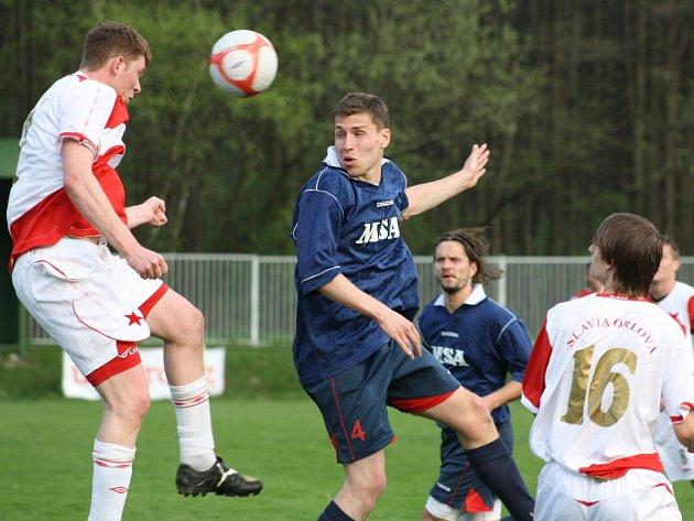 Fotbalisté Orlové brali tentokrát jen bod za remízu se silným Zábřehem.