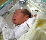 Dominik Gábor se narodil 23. prosince paní Denise Gáborové z Karviné. Po narození miminko vážilo 3710 g a měřilo 51 cm.