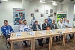 Tisková konference klubu před začátkem sezóny AZ Heimstaden Havířov, 31. srpna 2020 v Havířově.