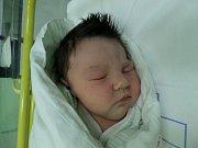 Valerie Gazdová z Českého Těšína se narodila 28. ledna v Třinci. Měřila 51 cm a 4270 g.