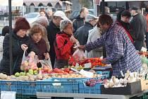 Farmářské a rukodělné trhy v Havířově.