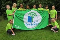 Děti z Ekoškoly ZŠ Zelená v Havířově-Životicích