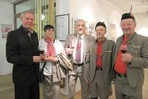 V Kulturním domě Radost v Havířově byla v sobotu slavnostně zahájena výstava k 150. výročí vzniku prvního českého tělocvičného spolku Sokol.