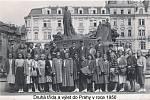 Školní výlet do Prahy v roce 1950 – II. třída.