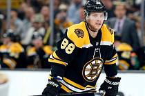 David Pastrňák si na Stanley Cup nesáhne.