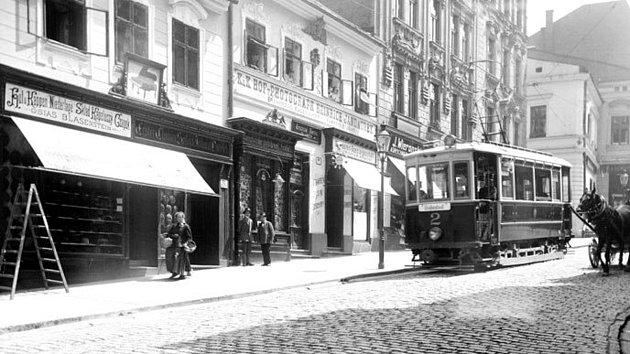 Tramvajová linka spojovala vletech 1911až 1921vlakové nádraží snáměstím dnešního polského Těšínska.