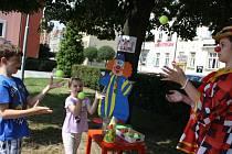 Prázdninový cirkusový kolotoč v Bohumíně.