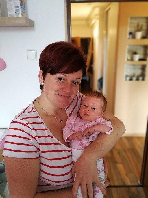 Mamince Denise Szajterové z Karviné se 13. září narodila dcerka Eliška Vanecká. Po narození malá Eliška vážila 2920 g a měřila 47 cm.
