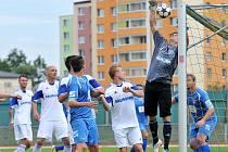 Petrovičtí fotbalisté opustili spodek tabulky.