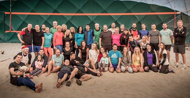 Účastníci turnaje VZP Open.