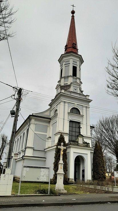 Doubrava. katolický kostel sv. Hedviky