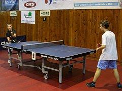 Havířovská liga školáků v pingpongu.