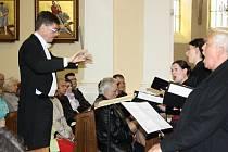 Pašijový koncert v kostele Povýšení svatého kříže.