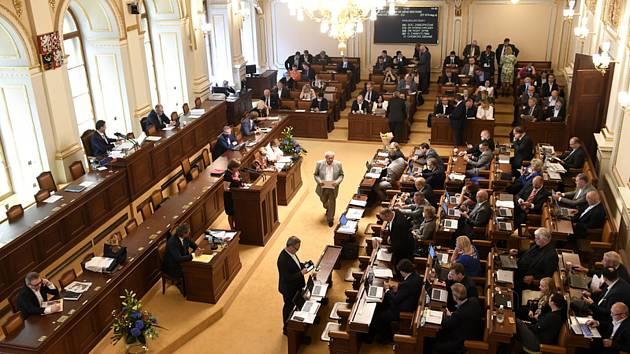 Poslanecká sněmovna.