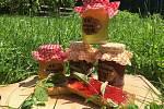 Věra Čapovcová z Karviné při zpracovávání ovoce ráda experimentuje a vyrábí netradiční marmelády a sirupy.  Foto: archiv V. Čapovcové