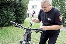 Značení jízdního kola DNA.