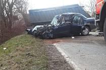 Tragická nehoda v Prostřední Suché.