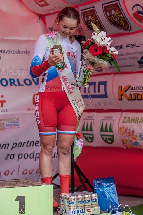 Ruska Maria Novolodskaja obsadila na Gracii celkové třetí místo.