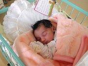 Melánie se narodila 16. listopadu mamince Boženě Mitrášové z Karviné. Porodní váha dítěte byla 2700 g a míra 46 cm.