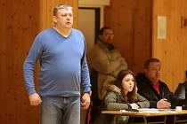 Roman Hamrus - starosta karvinského Sokola a předseda basketbalového klubu.