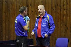 Trenér Kamil Koutný a jeho tým rozjeli novou sezonu stolního tenisu.