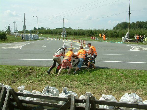 Havířovský Zlatý kahanec. Sobotní tréninkové jízdy.