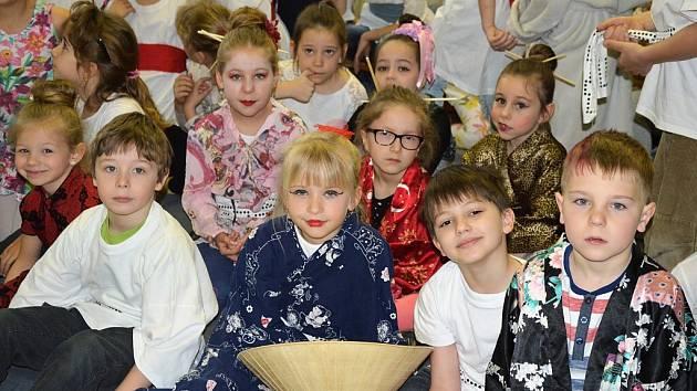 Japonský den na ZŠ Frýdecká v Havířově-Bludovicích.