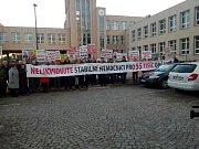 Demonstrace v Orlové, 17. ledna 2019