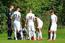 Fotbalisté MFK Karviná B vyhráli ve 12. kole divize F na hřišti Polanky 3:2.