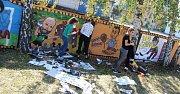 Havířovský umělec Nikola Vavrous přivezl do Karviné 10. ročník své putovního akce United Colours Street-Art Festival.
