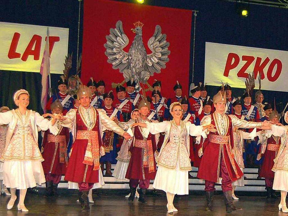 Reprezentační soubor polského vojska.