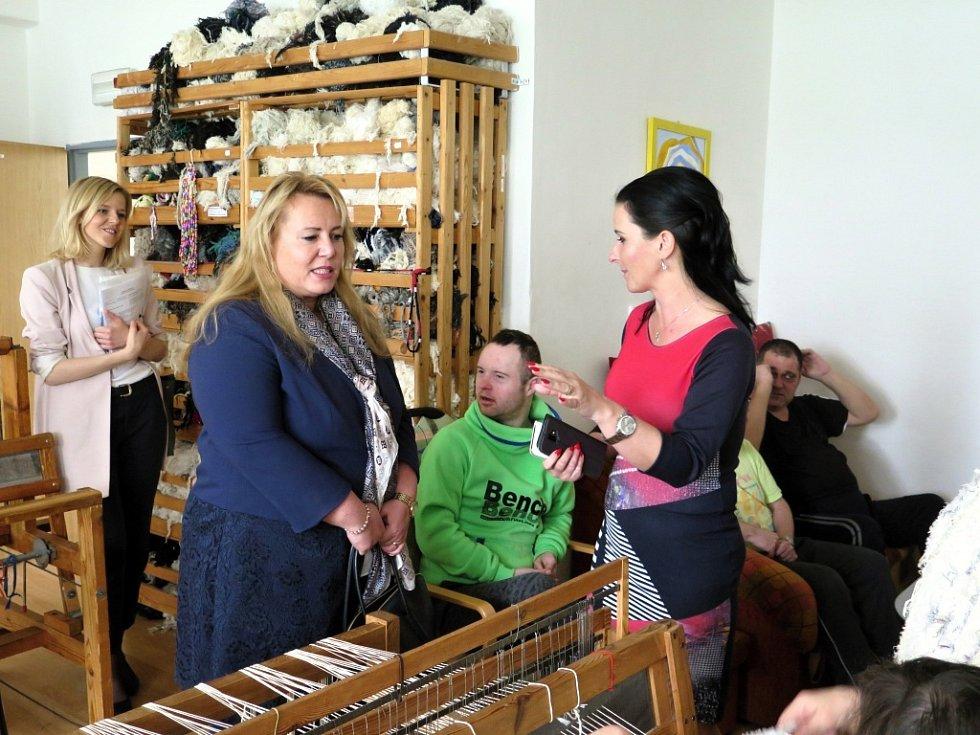 Ve středu 10. dubna byla na pracovní návštěvě Havířova ministryně pro místní rozvoj Klára Dostálová.