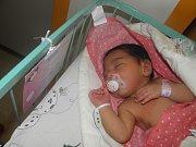 Laurinka se narodila 27.července paní Kristýně Meinzlové z Karviné. Po porodu miminko vážilo 2900 g a měřilo 49 cm.