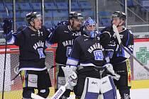 Havířovští hokejisté slaví postup do první ligy.