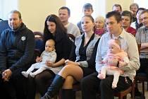 První vítání občánků v roce 2019 v Havířově.